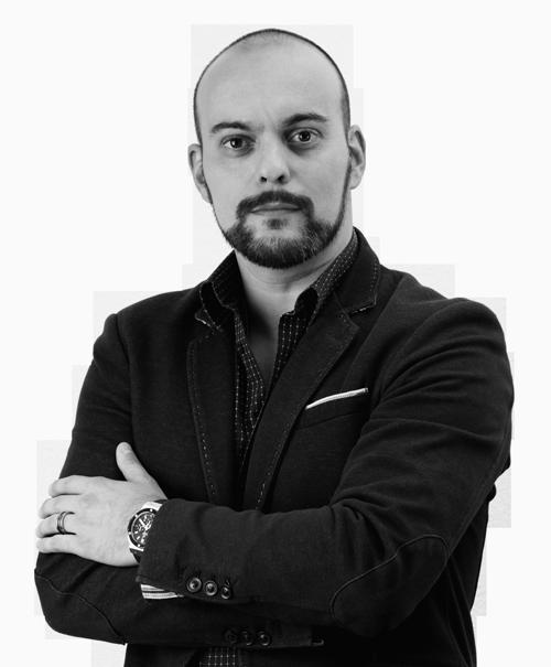 Michel Santos CEO de l'agence de communication digitale nostys design